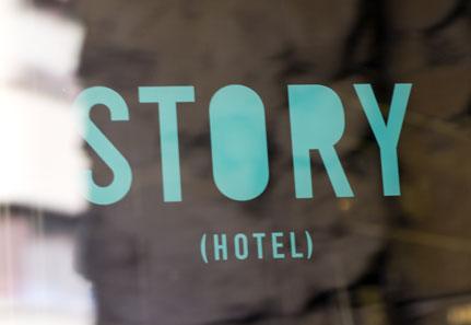 Story Hotel Entrance Logo