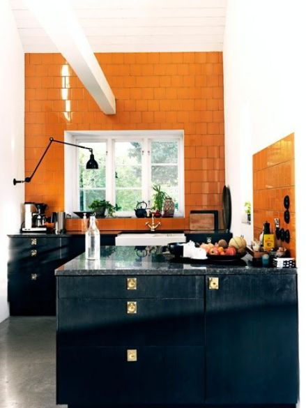 halloween interior kitchen