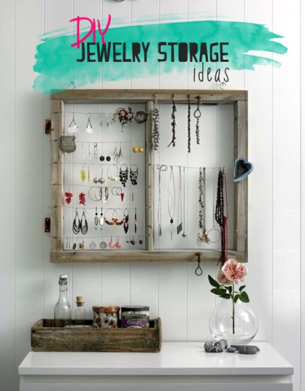 DIY Jewelry Storage ideas_learning to love white_interior design blog