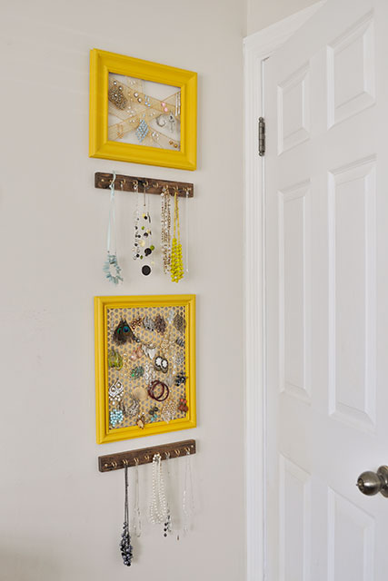 DIY Jewelry storage_beautiful matters_learning to love white_interior design blog