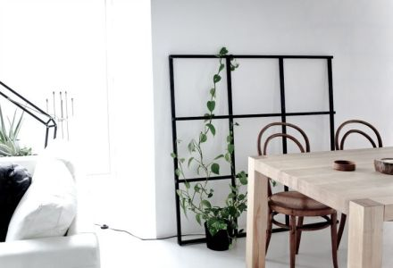 Industrial Windows | Learning to Love White | DIY Window pane